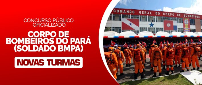 CONCURSO PÚBLICO CBMPA OFICIALIZADO
